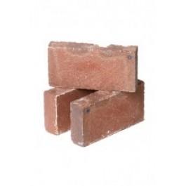 Vuurvaste steen ANTIEK ROOD briketformaat