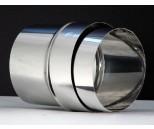 Aansl. flex Ø150 mm RVS EK