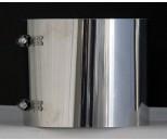 Klemband voor schuifpijp Ø125 mm RVS EK
