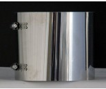 Klemband voor schuifpijp Ø130 mm RVS EK